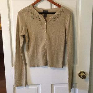 🌸Abercrombie & Fitch Beaded Cardigan🌸
